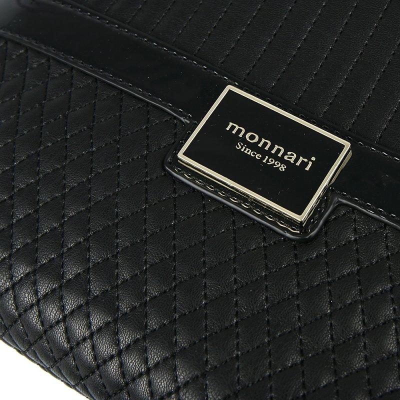 Čierna štýlová kabelka MONNARI - Adba Raj pre ženy 25b0ac83b84