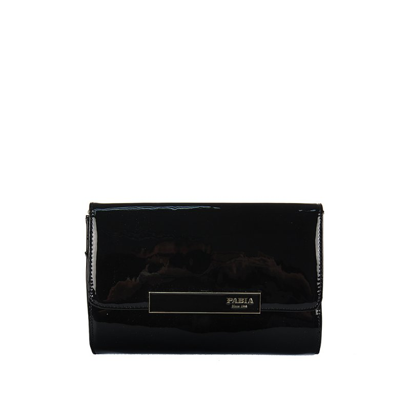 080918f2b2 Čierna lakovaná kabelka MONNARI 1031-M20 - Adba Raj pre ženy